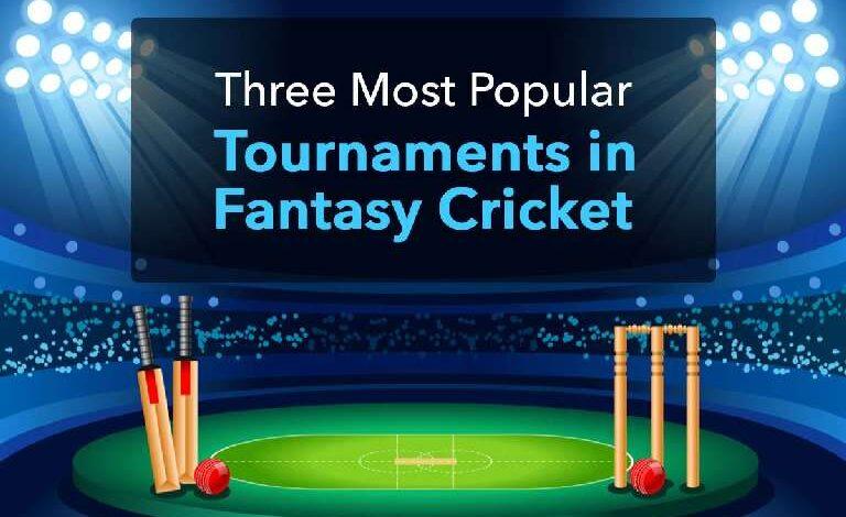 Three Most Popular Tournaments in Fantasy Cricket