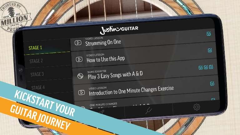 JustinGuitar app