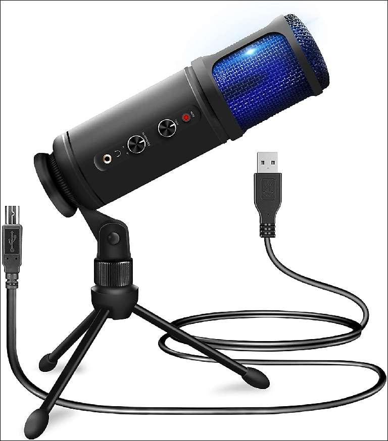Pyle PDMIUSB50 recording condenser microphone