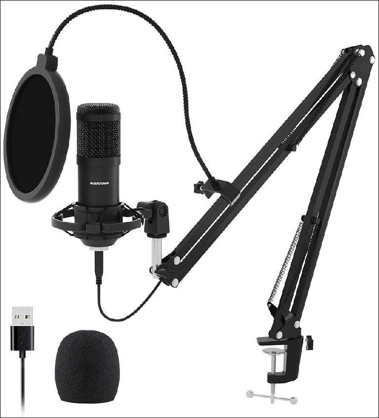 Sudotack ST-800 microphone with USB transmission