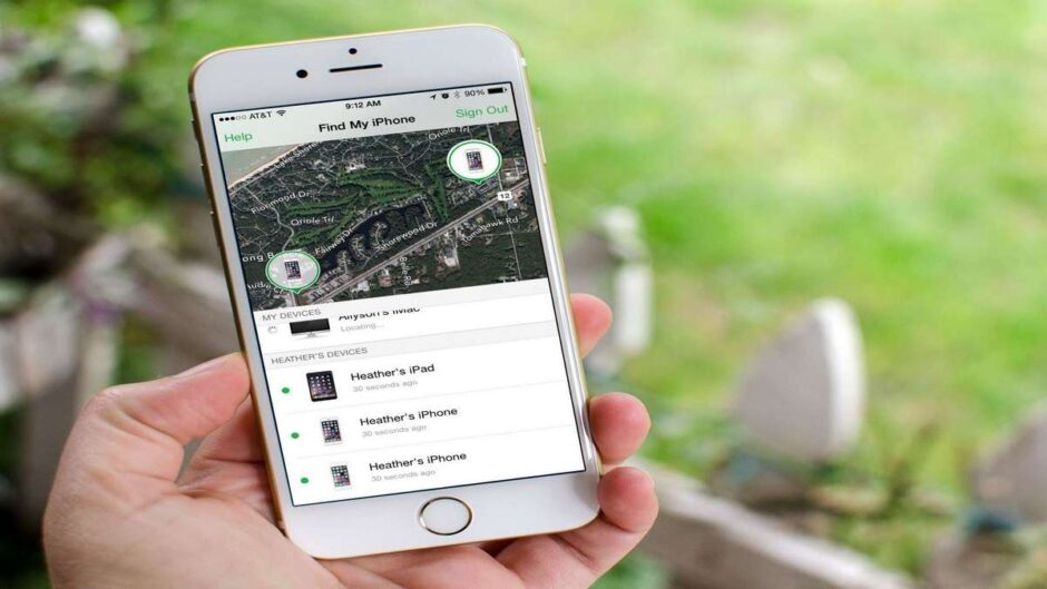 How to locate an iPhone by geolocation