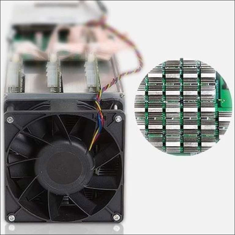 AntMiner Annisking Processing Bitcoin Miner S9