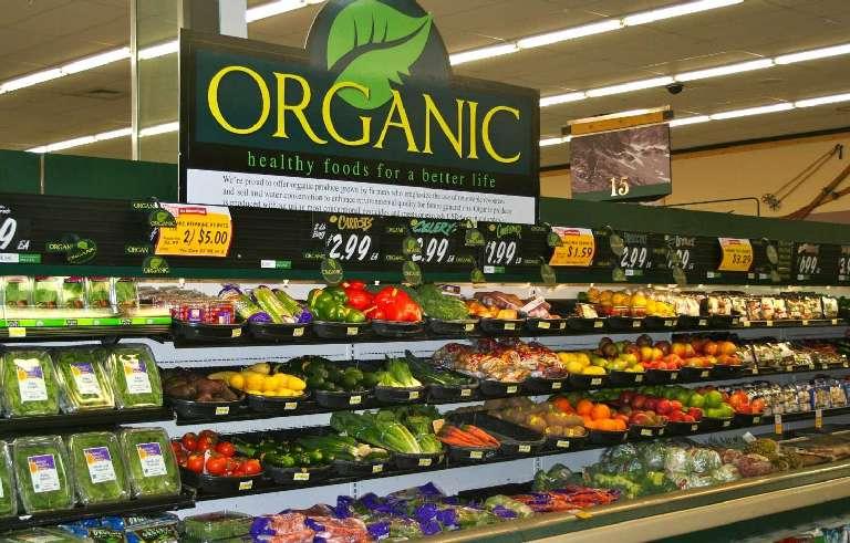 Healthy and organic food