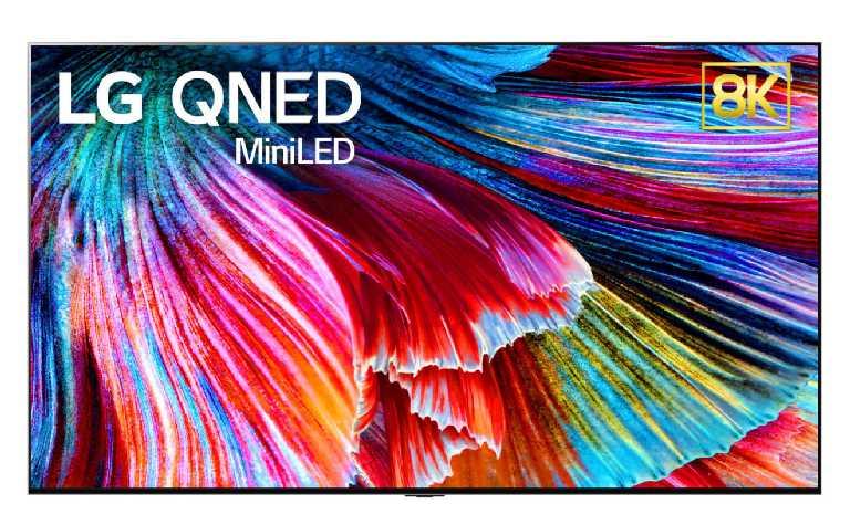 QNED is Mini LED with Quantum Dot. (Photo: LG)