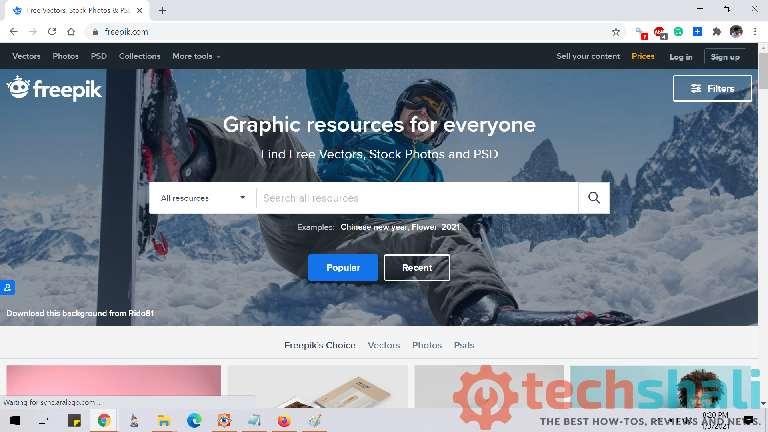 Freepik free graphic resource