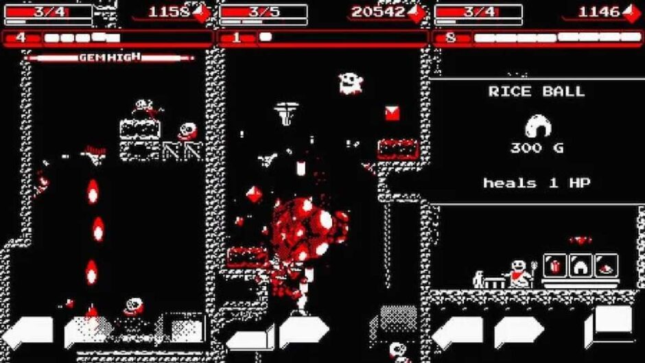 Downwell is an arcade shooter