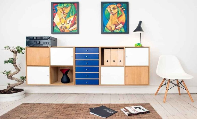 Stylish And Sustainable Storage Solution For A Clean Home