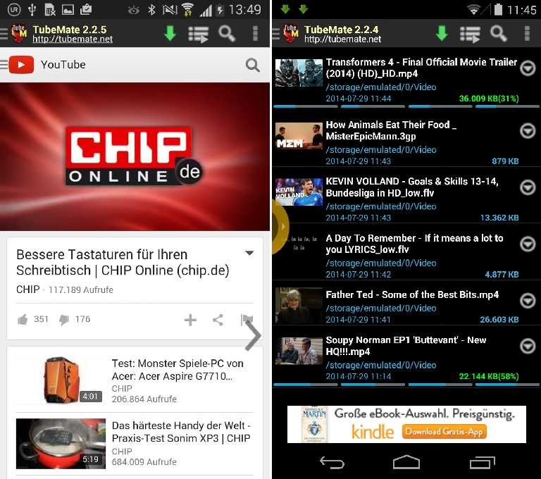 How to convert YouTube videos to MP3 on Android