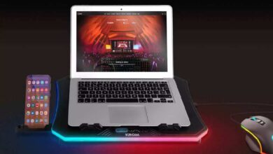 Photo of Kooler RGB Laptop Cooling Base Keeps Your Notebook Cool And Stylish