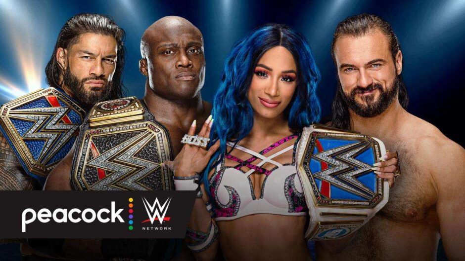 Watch WWE online from the USA with Peacock TV