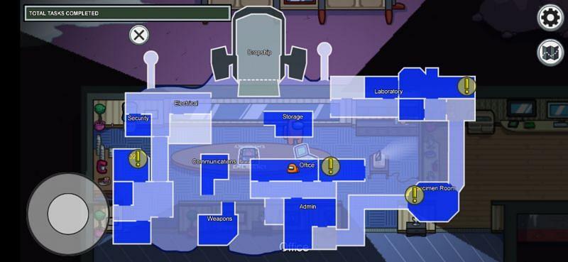 MIRA HQ Map - Among Us