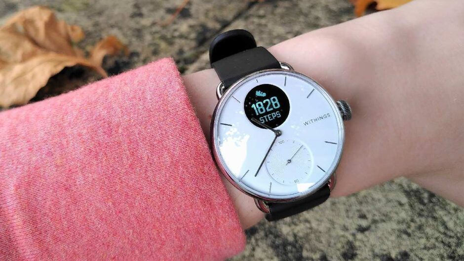 Withings ScanWatch - a smartwatch in a classic case