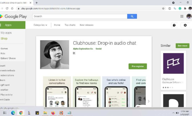 How to install Clubhouse on Android officially