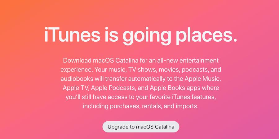 iTunes Retire