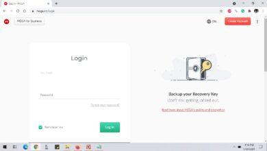 Photo of MEGA (cloud) : Login or enter the Mega.nz site, and fix login issues