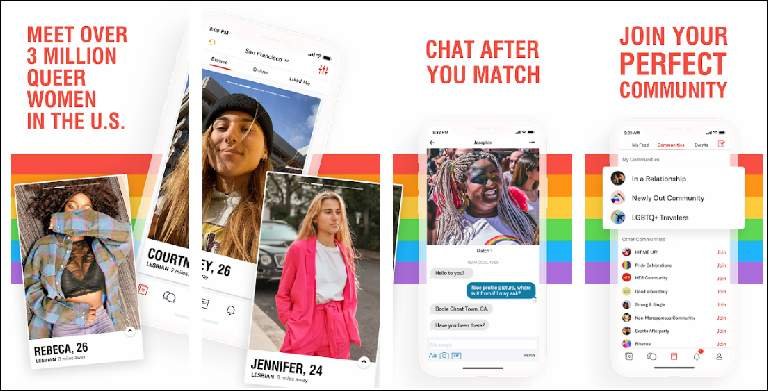 HER is the best dating app for LGBTQ Women
