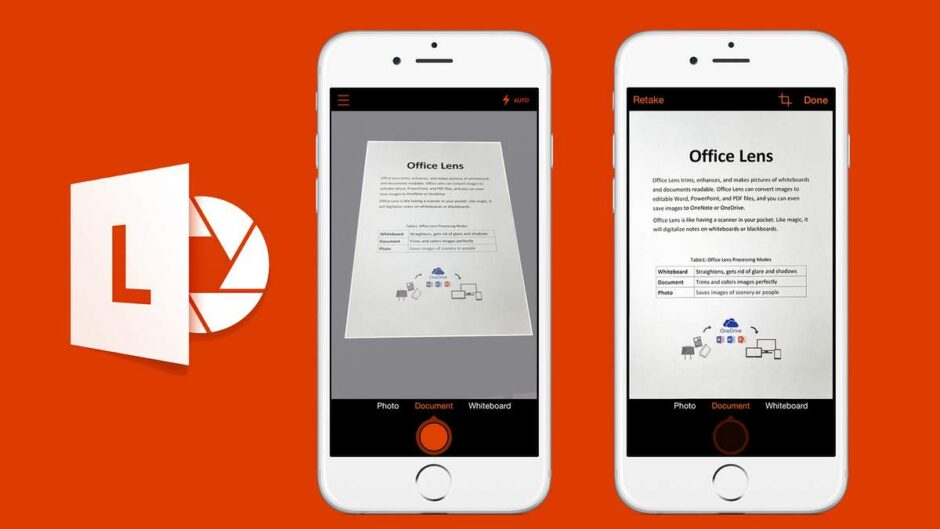 Microsoft Office Lens Apps for Students