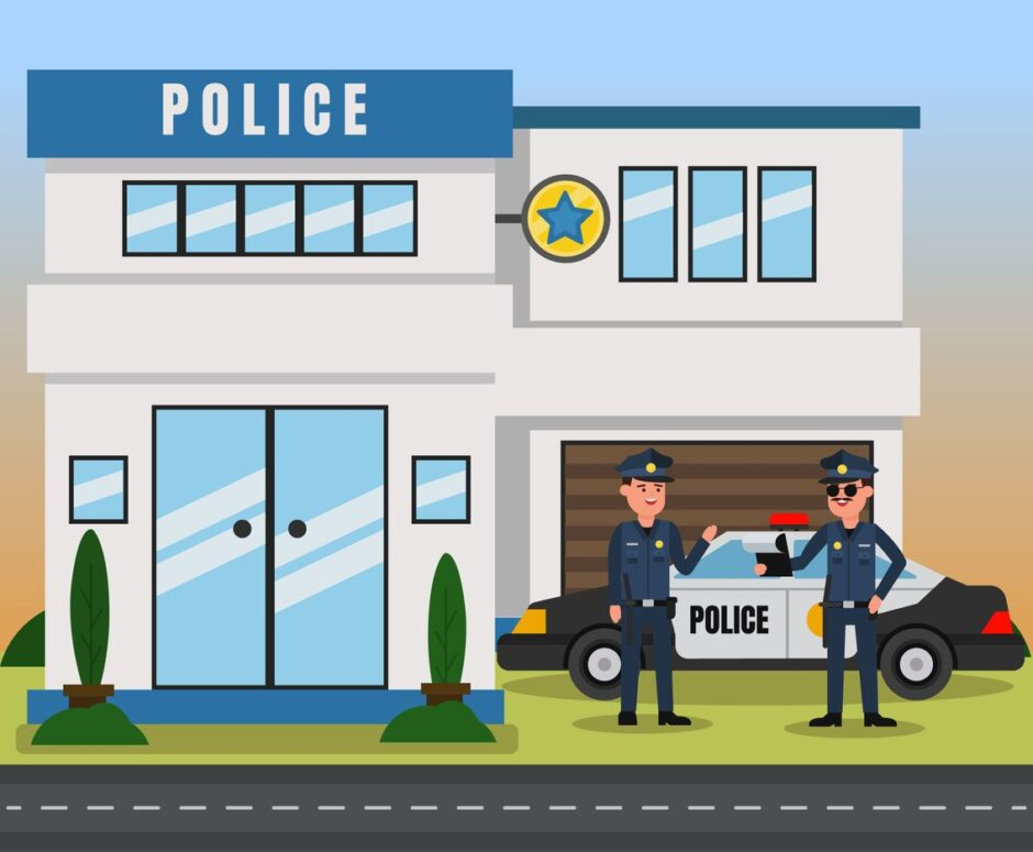 Police-Station to find your lost phone
