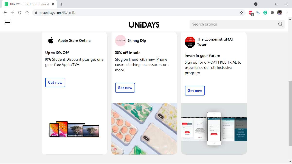 Get cheaper Apple products if you're a student registering Unidays