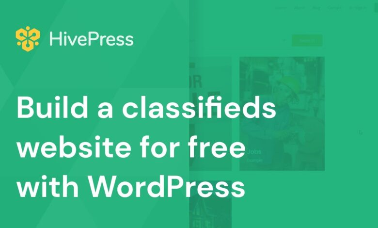 HivePress — A Free WordPress Plugin To Create Directory And Listing Websites