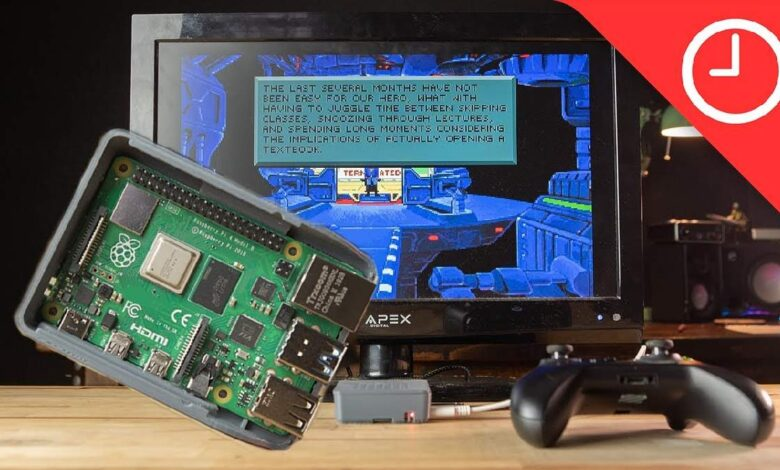 How To Turn A Raspberry Pi Into A Portable Retro Console