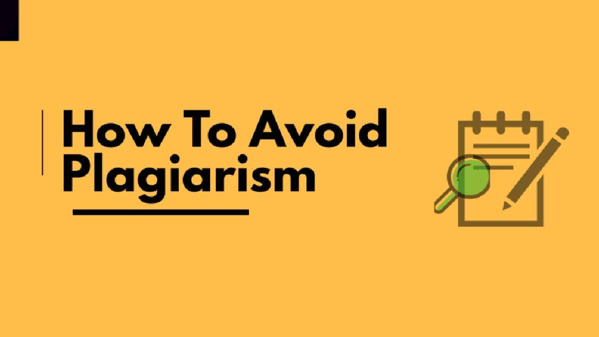 What resources could be utilized to avoid plagiarism
