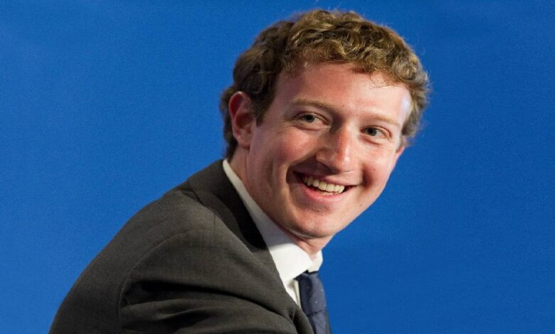 Who are the top shareholders of Facebook?