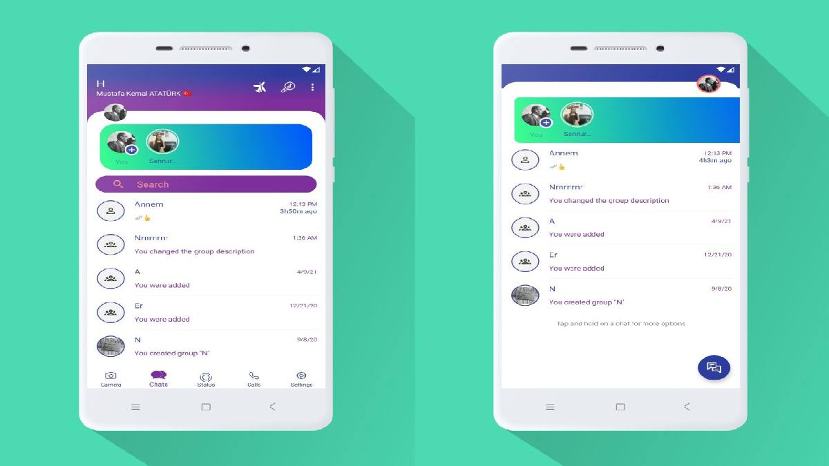 Download and install WhatsApp Aero on your phone