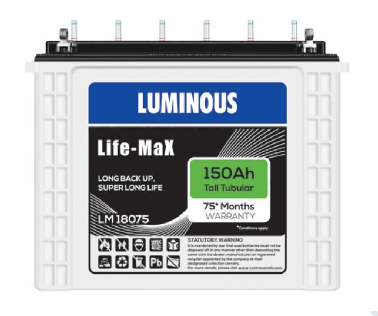 Luminous Life Max Battery